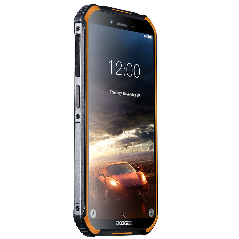DOOGEE S40 IP68 IP69K Rugged Mobile Phone 5.5inch Display 4650mAh MT6739 Quad Core 3GB RAM 32GB ROM Android 9.1 8.0MP Camera 4G Network
