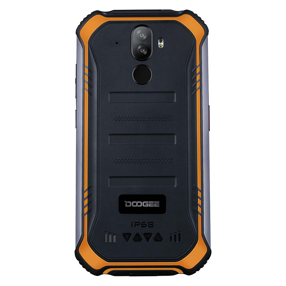 DOOGEE S40 Lite Rugged Phone Mobile Phone 5.5inch Display 4650mAh 8.0MP Fingerprint Quad Core 2GB 16GB Android 9.0