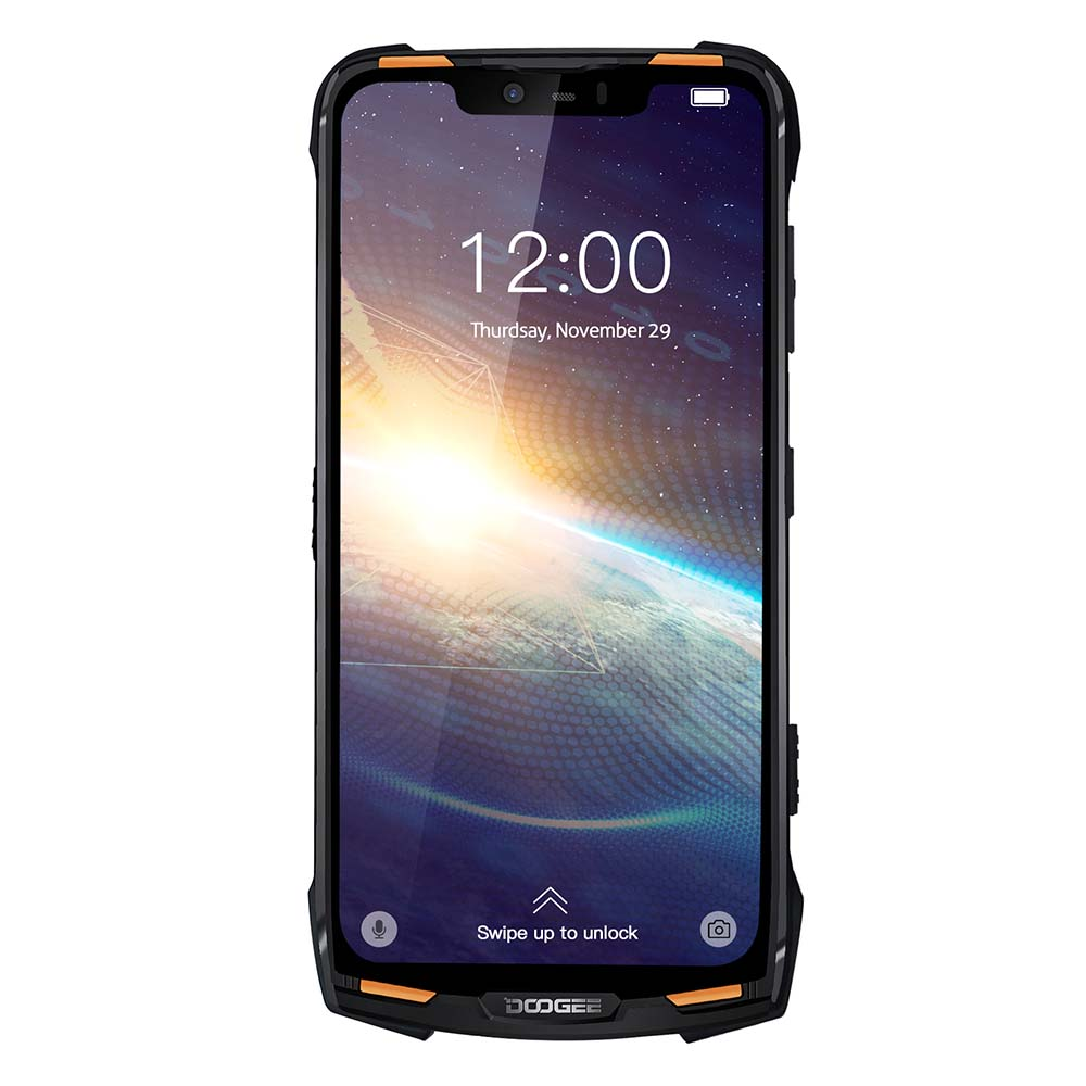 "Doogee S90C Modular IP68 Rugged Mobile Phone 6.18"" Display Helio P70 Octa Core 4GB 64GB 5050mah 16MP+8MP Android 9.0 12V2A"