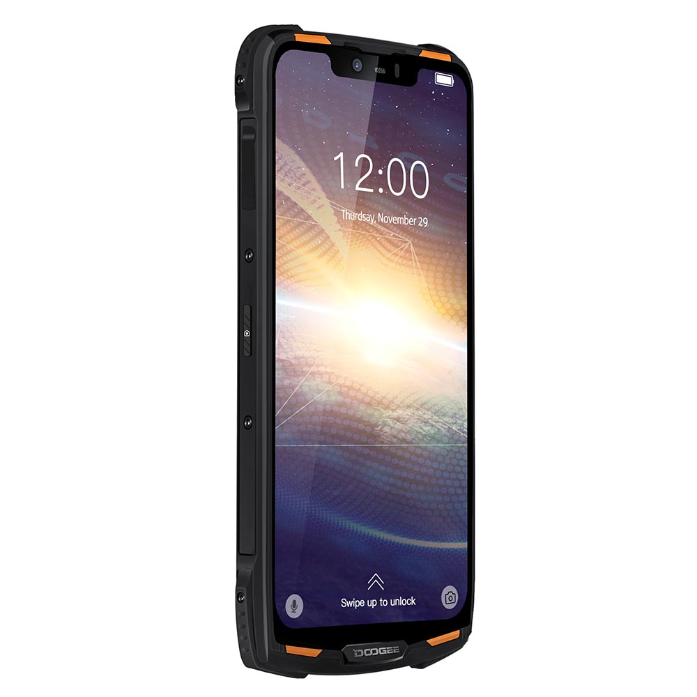 """Doogee S90C Modular IP68 Rugged Mobile Phone 6.18"""" Display Helio P70 Octa Core 4GB 64GB 5050mah 16MP+8MP Android 9.0 12V2A"""