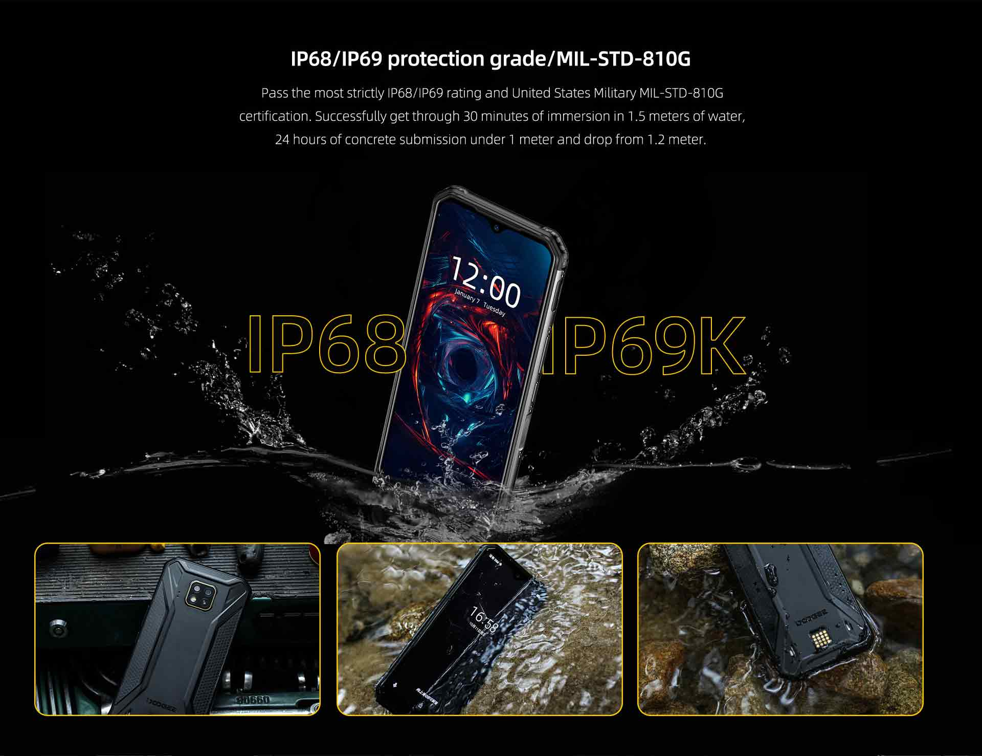 DOOGEE S95 MODULAR phone