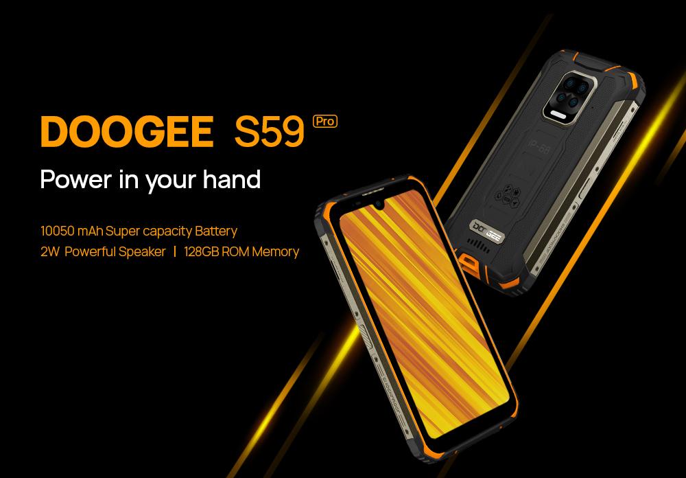 Doogee S59 pro specs for sale